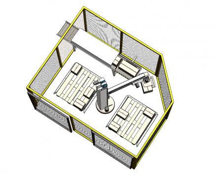 palletiser voor industrie paletten dicht 1200x1000
