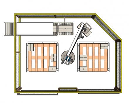 palletiser voor blok paletten boven 1200x1200