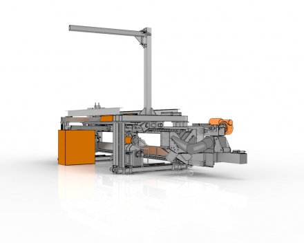 FF25 + FR25, profielfreesmachine freest profielen van 2 meter met een cyclustijd van 20 seconden manipulatie inbegrepen