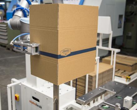 dozen vormen met robot