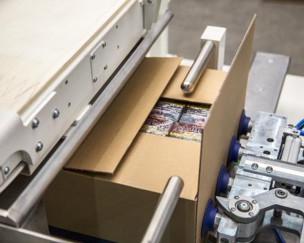 dozen sluiten met een robot