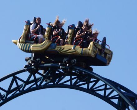 Voorbeeld project Plopsa rollercoaster Anubis
