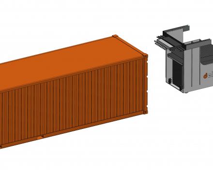 Deloco met container