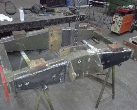 Herstelling chassis attractie vleermuis